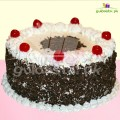 Blossoming Love Black Forest Cake