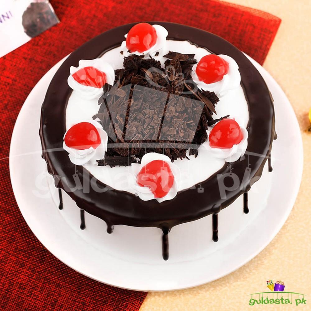 Delightful Black Forest Cake