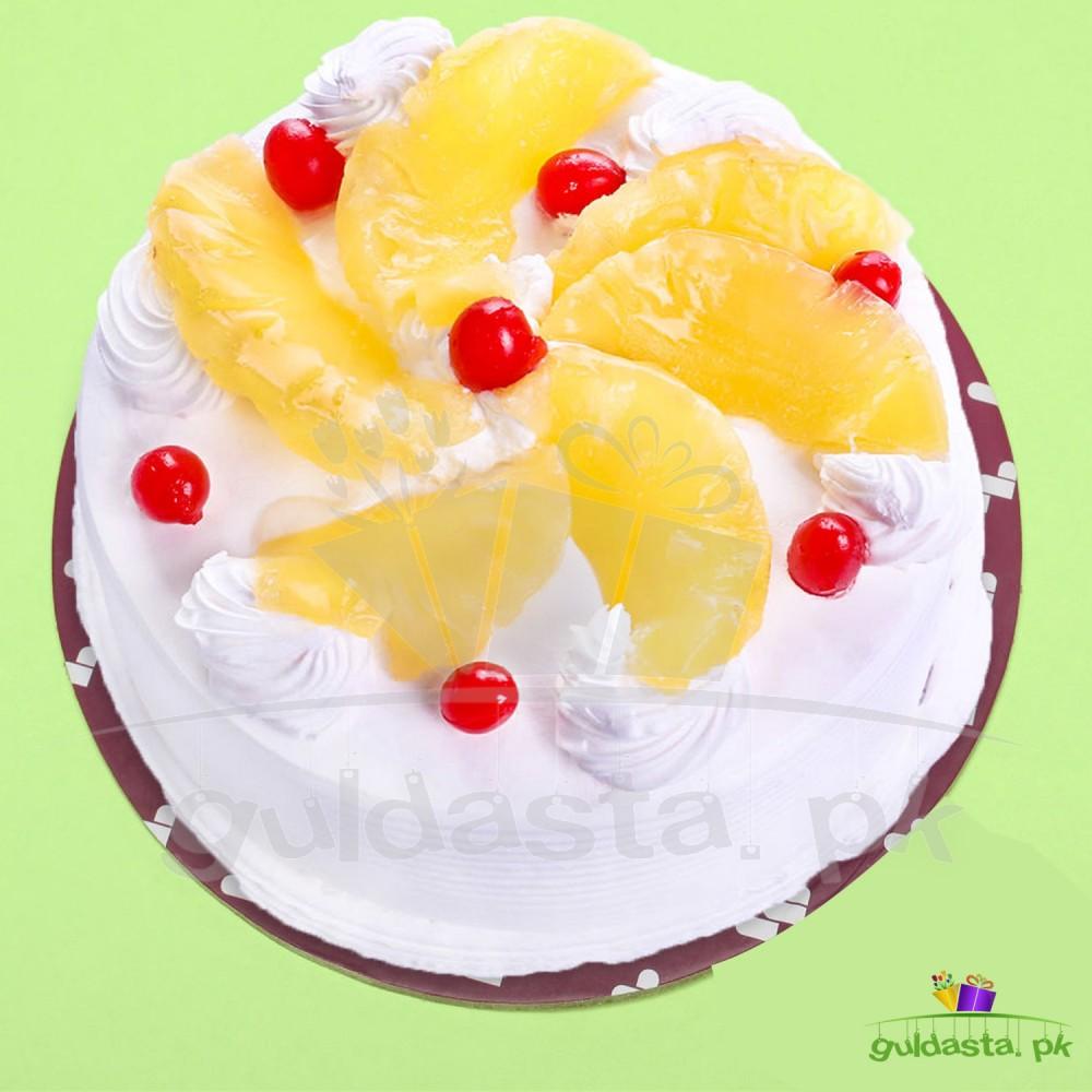 Dreamy Creamy Pineapple Cake