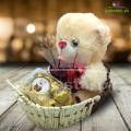 Teddy Ferry Rose Basket